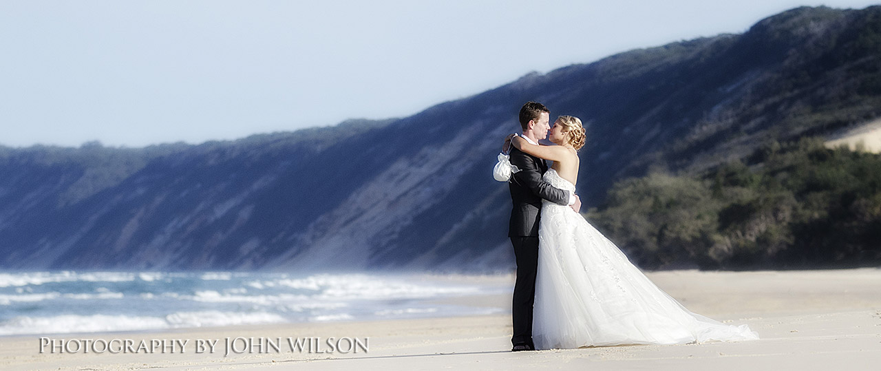 Wedding photograpy Rainbow Beach