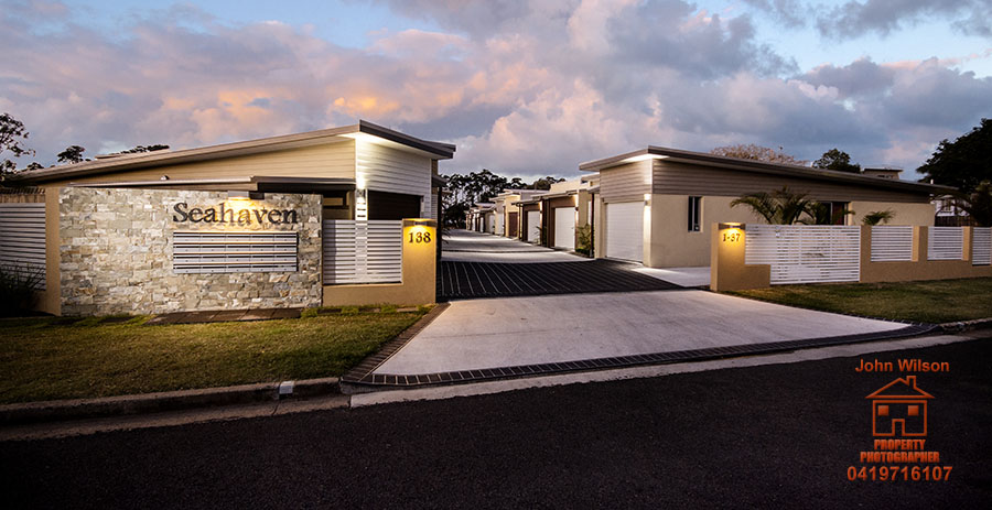 Twilight real estate photography Sunshine Coast02