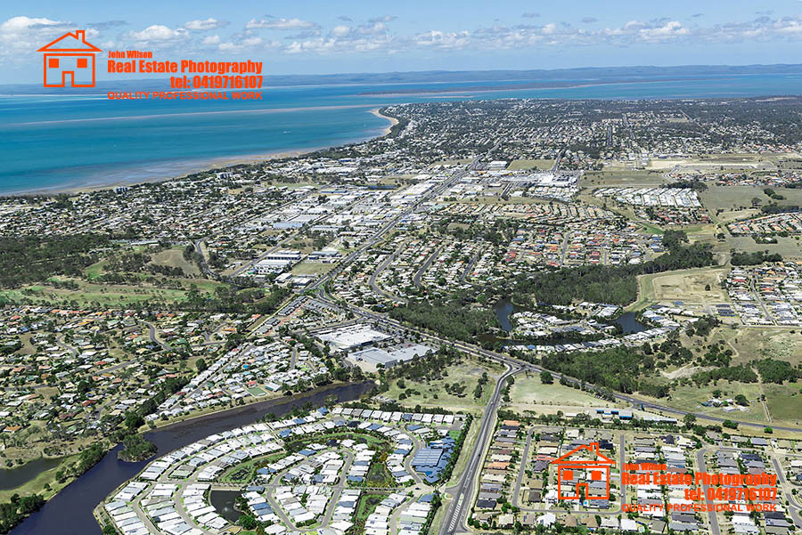 Aerial photography Hervey Bay Bundaberg