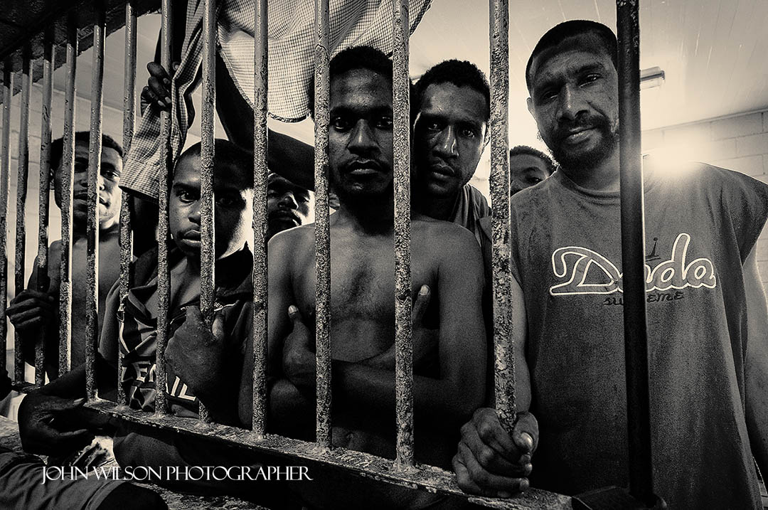 Behind Bars - Papua New Guinea