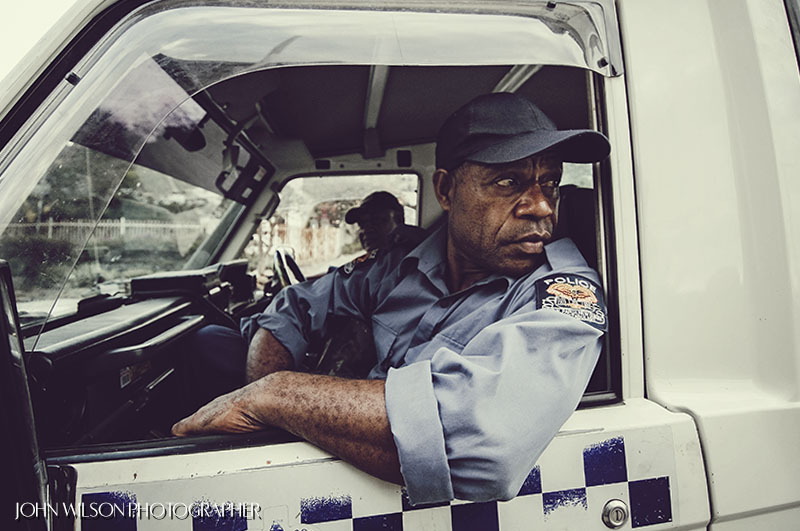 Port Moresby police