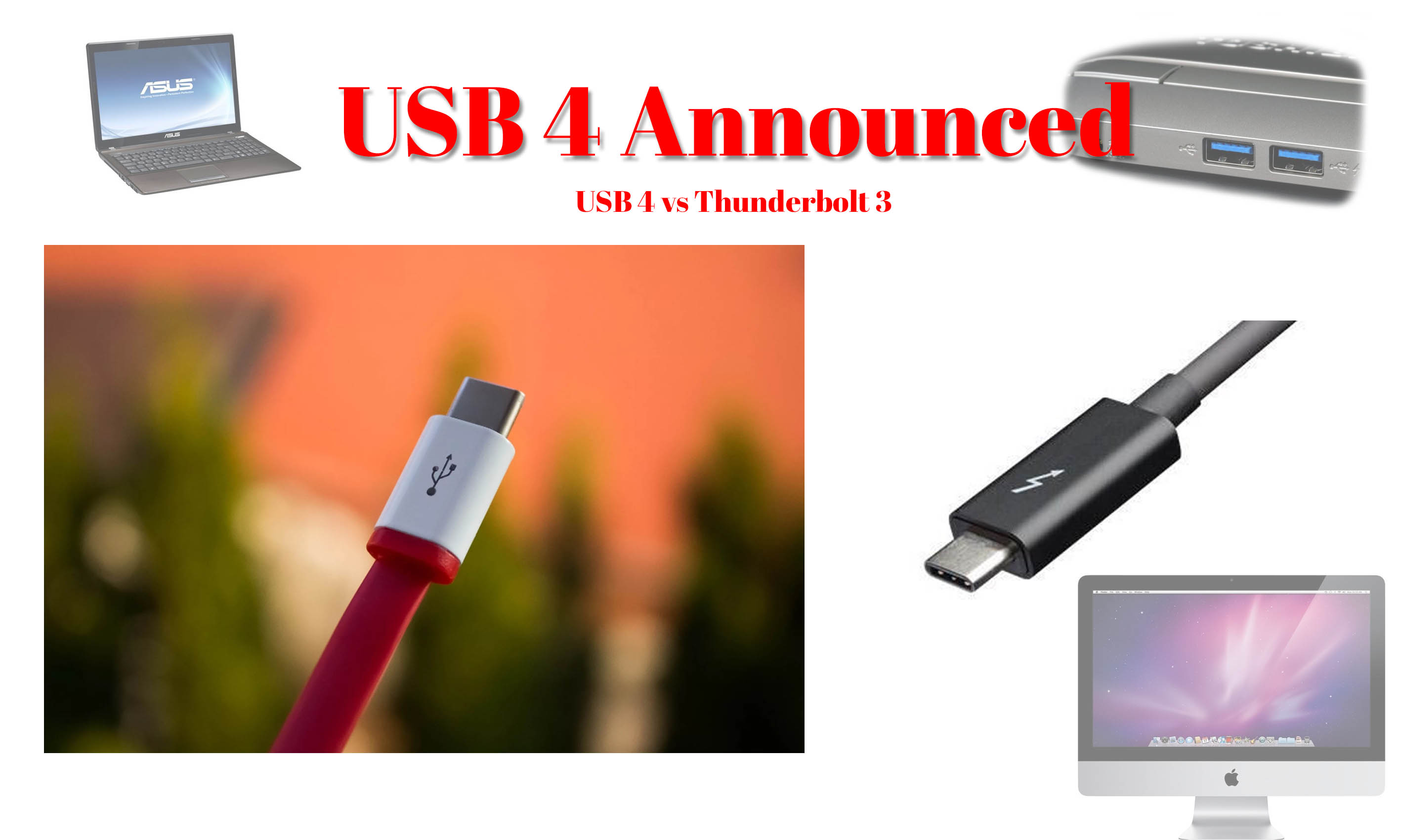 USB 4 Connectivity is officially announced